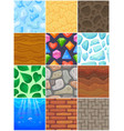 building background wall brick texture of vector image