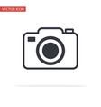 camera icon symbol flat style vector image