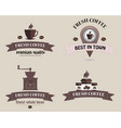coffee shop logo coffee logo vector image vector image