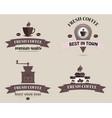 coffee shop logo logo vector image