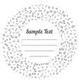 confetti silver and tiny falling on transparent vector image