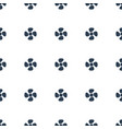 fan icon pattern seamless white background vector image vector image