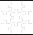 jigsaw pieces template nine puzzle parts