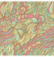 Seamless floral vintage fantasy pattern vector image vector image