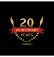 20 Anniversary years vector image