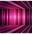 Abstract purple warped stripes background vector image vector image