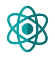 atom molecule isolated icon vector image