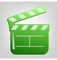 blackboard icon vector image vector image