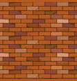 brick wall seamless background vector image