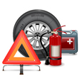 Car Parts Consept vector image vector image
