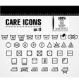 care icons vector image