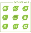 ecology icon set Vol 2 vector image