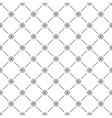 Seamless simple pattern with snowflakes vector image