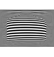 3d striped background with copy space art vector image