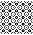 black and white seamless pattern in boho style vector image vector image