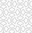 Dotted circle pin will with connector vector image vector image