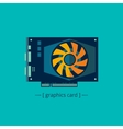 Graphics card vector image vector image
