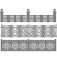 Metal fence-grid forged fence