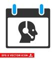 Operator Calendar Day Eps Icon vector image vector image