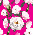 rose seamless pattern5 vector image vector image
