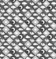 seamless pattern weather icons paper vector image