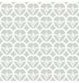 white dacorative seamless pattern vector image vector image