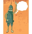 Funny robot speaking