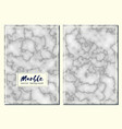 marble hand drawn texture background card vector image