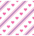 purple and pink diagonal lines pattern vector image