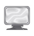screen monitor device technology icon vector image vector image