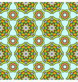 Seamless pattern from abstract elements vector image vector image