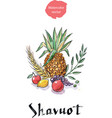 shavuot holiday symbols vector image vector image