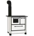 the retro kitchen stove vector image vector image