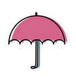 umbrella weather protection vector image vector image