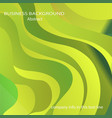 wavy geometric background trendy gradient shapes vector image vector image