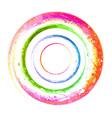watercolor spiral grunge vector image
