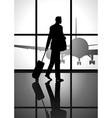 Business Trip vector image