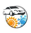 car air conditioner service vector image vector image