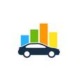 chart automotive logo icon design