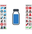 Full Bottle Icon vector image