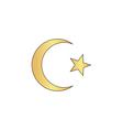 Islam computer symbol vector image vector image