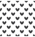 seamless heart pattern valentines day vector image