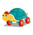 toy tortoise vector image vector image