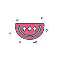 water melon icon design vector image