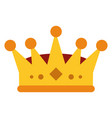 royalty crown icon imag vector image