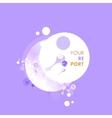 Abstract molecules design Atoms Medical vector image vector image