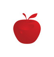 fruit apple logo vector image