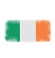 ireland flag halftone vector image vector image