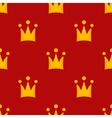 little crowns royal seamless pattern vector image vector image