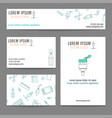 templates for graphic design or art studio vector image